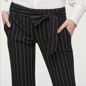 Loft // striped Marisa trouser petite